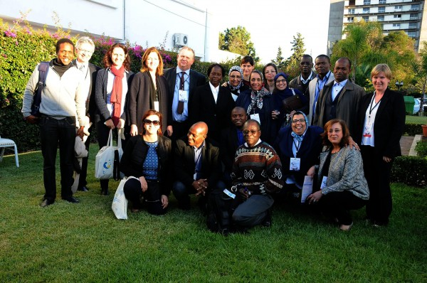 Participants of SRHR meeting in Rabat, Morocco.